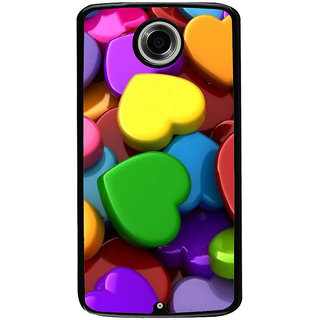 Ayaashii Colorful Dill Pattern Back Case Cover for Motorola Google Nexus 6