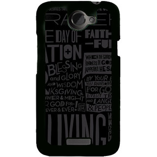 Ayaashii Blessing And Glory Back Case Cover for HTC One X::HTC One XT::HTC 1X