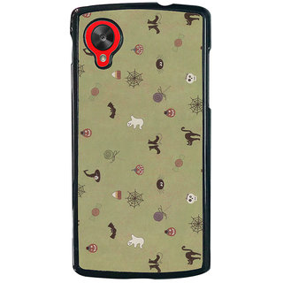 Ayaashii Animal And Insects Pattern Back Case Cover for LG Google Nexus 5::LG Google Nexus 5 (2014 1st Gen)
