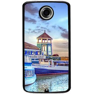 Ayaashii Light House Back Case Cover for Motorola Google Nexus 6