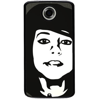 Ayaashii Brave Girl Back Case Cover for Motorola Google Nexus 6