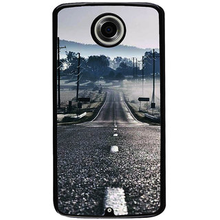 Ayaashii A Silent Road Back Case Cover for Motorola Google Nexus 6