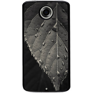 Ayaashii A Single Leaf Back Case Cover for Motorola Google Nexus 6