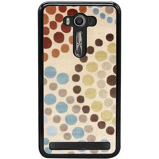 Ayaashii Circle Drop Painting Back Case Cover for Asus Zenfone Selfie::Asus Zenfone Selfie ZD551KL