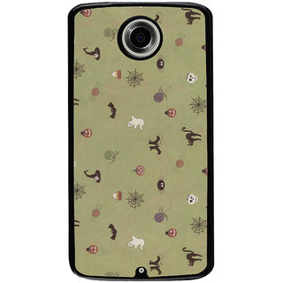 Ayaashii Animal And Insects Pattern Back Case Cover for Motorola Google Nexus 6