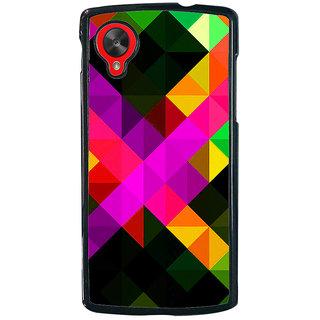 Ayaashii Diamond Abstract Back Case Cover for LG Google Nexus 5::LG Google Nexus 5 (2014 1st Gen)