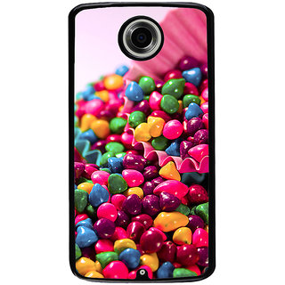 Ayaashii Colorful Stones Back Case Cover for Motorola Google Nexus 6