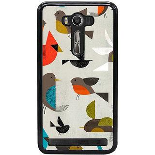 Ayaashii Birds Pattern Back Case Cover for Asus Zenfone Selfie::Asus Zenfone Selfie ZD551KL