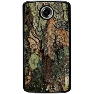 Ayaashii Colorful Tree Bark Back Case Cover for Motorola Google Nexus 6