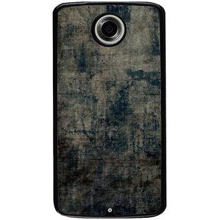 Ayaashii Shaded Jeans Back Case Cover for Motorola Google Nexus 6