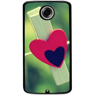 Ayaashii Love Clip Back Case Cover for Motorola Google Nexus 6