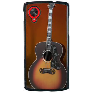 Ayaashii Classical Guitar Back Case Cover for LG Google Nexus 5::LG Google Nexus 5 (2014 1st Gen)