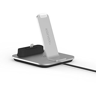 Kanex Desktop Charging Dock for iPhone 6/6 Plus/6s/6s plus - Silver