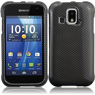 HR Wireless Kyocera Hydro XTRM/C6721 Design Protective Cover - Retail Packaging - Carbonfiber