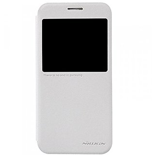 Nillkin Samsung Galaxy S6(G920F) Sparkle Leather Case - Retail Packaging - White