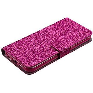 MyBat Wallet Case for Samsung G935 Galaxy S7 Edge - Retail Packaging - Pink
