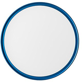 MeFOTO MUV52B Lens Karma - UV and Lens Protector - 52mm Filter- Blue Filter Ring