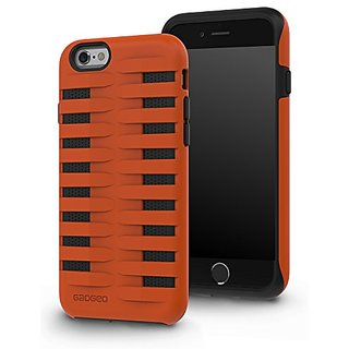GADGEO iPhone 6 6S Tough Heavy Duty Shock Proof Defender Case Cover with Two Piece Protective Hard Layer for Strong Armo