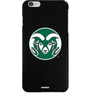 Coveroo Cell Phone Case for iPhone 6 Plus - Retail Packaging - Black/Colorado State Designs