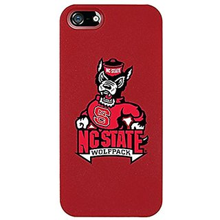 Coveroo NC State Design on Thinshield Snap-On Case for iPhone 5/5s - Retail Packaging - Red