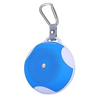 GooQee BP001 Tiny Ultra-Portable Wireless Bluetooth Speaker With Built-in MIC, Works For (Blue)
