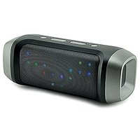 PYRUS Multi Color Flash LED Light Speaker Hands-Free Wireless Bluetooth Speaker Mini FM TF USB Flash Drive Mic Bass Spea