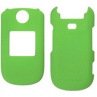 Ventev Soft Touch Cases for Samsung Coco 3 - Retail Packaging - Lime Green