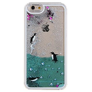 IKASEFU Glitter Liquid Case for Iphone 6 Plus 5.5