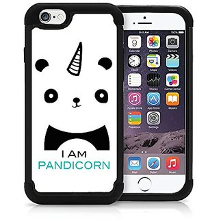 Iam Pandicorn Cute Panda Hipster Love Animal Cool Funny iPhone 6 PLUS iPhone 6s PLUS Case Cover Protective HYBRID Bumper