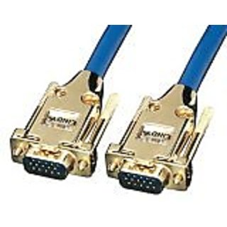 Lindy 10m VGA Cable - Premium Gold SVGA Monitor Cable (37248)
