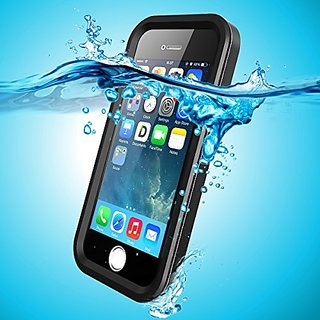 iPhone SE Waterproof Case, iThroughTM iPhone 5S Waterproof Case with Ultra-thin Metal Case, Heavy Duty Protective Cover
