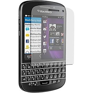 C&E BlackBerry Q10 Screen Protectors - Retail Packaging - Clear