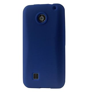 Reiko SLC10-ZTECHASERNV Slim and Soft Protective Cover for ZTE Chaser - 1 Pack - Retail Packaging - Navy