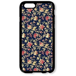 iPhone 6 Case AOFFLY® Vintage Floral Black Hard Case for iPhone 6 4.7 inch