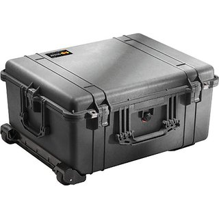 Pelican 1610 Case with Foam for Camera (Black)