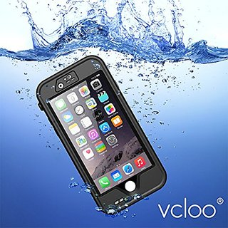 iPhone 6 Waterproof Case, VclooWaterproof Case With Stand Function for iPhone 6, iPhone 6S, Dust Proof, Snow Proof, Shoc