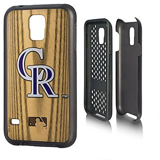 MLB Colorado Rockies Rugged Series Phone Case Galaxy S14, One Size, One Color