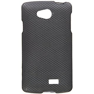Zizo Rubberized Design Hard Snap-On Cover for LG Tribute LS660 - Retail Packaging - Carbon Fiber