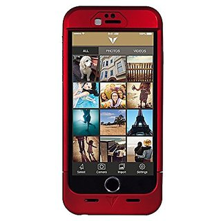 Vysk EP1 Privacy Charging Case for iPhone 6 - Carrying Case - Retail Packaging - Red
