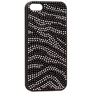 iWave ICP5063-PK Zebra Bling Case for iPhone 5 - Retail Packaging - Pink