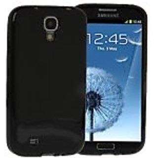 JUJEO Pure Color Protection TPU Case for Samsung Galaxy S IV/I9500 - Non-Retail Packaging - Black