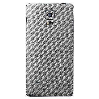 Samsung Galaxy Note 4 Skins, Cruzerlite Carbon Fiber (Back) Skins Compatible for Samsung Galaxy Note 4 - Graphite