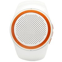 Lamyik Portable Bluetooth Speaker Watch With FM Radio And Hands Free Microphone, Support Micro Memory Card And Bluetooth