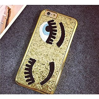 iPhone 6 Plus Case, MC Fashion Eyelash Bling Bling Hard Case Cover for iPhone 6 Plus 5.5