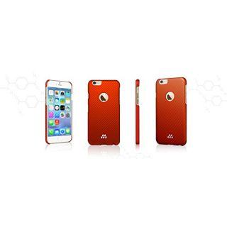 Evutec Karbon S Brigandine Snap Case for Apple iPhone 6 - Retail Packaging - Red/Orange