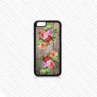 Krezy Case iPhone 6 Plus Case, iPhone 6 Plus case, Cute Flower (Not a real wood) iPhone 6 Plus Case, Cute iPhone 6 Plus