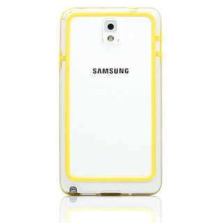 Gearonic Ultra Thin Slim TPU Bumper Frame Case for for Samsung Galaxy Note 3 - Non-Retail Packaging
