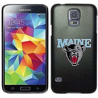 Coveroo Thinshield Case for Samsung Galaxy S5 - Retail Packaging - Black/Maine Primary Mark Design