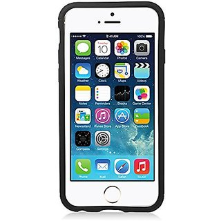 Eagle Cell Hybrid Armor Protective Case with Stand for Apple iPhone 6 - Retail Packaging - Black/Gray