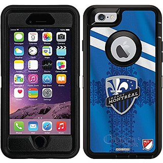 Coveroo Defender Series Cell Phone Case for iPhone 6 - Retail Packaging - Montreal Impact Jersey